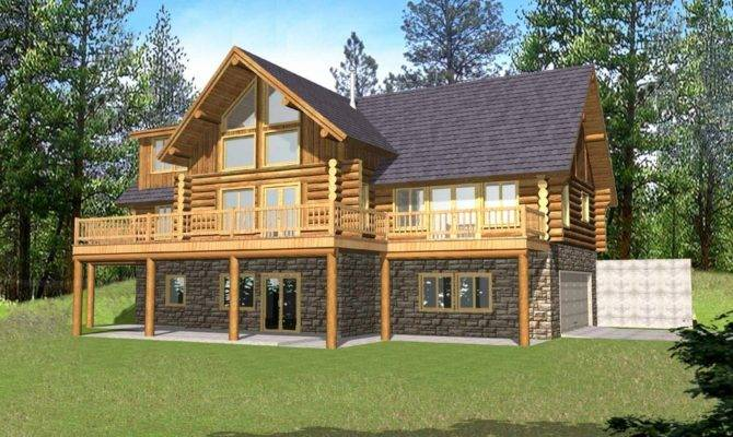 Narrow Lakefront Home Plans Waterfront House
