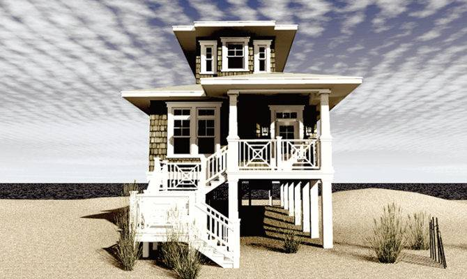 Narrow Lot Beach House