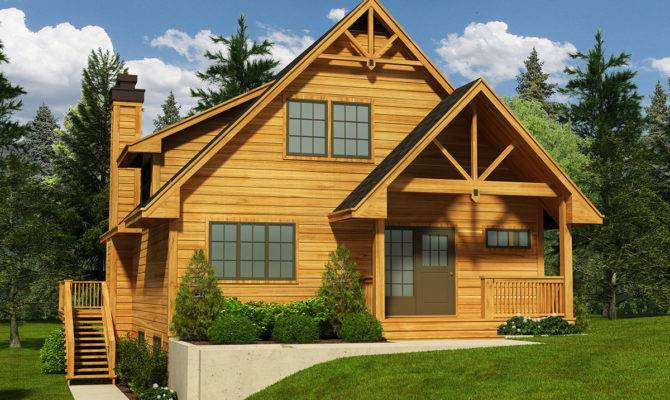 Narrow Lot Cottage House Plan Architectural