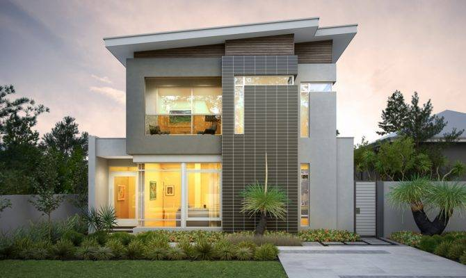 Narrow Lot Homes House Design Plans