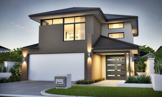 Narrow Lot Homes Two Storey Small