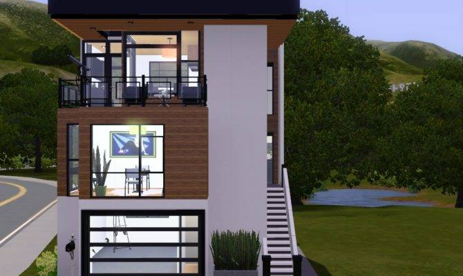 Narrow Lot House Design
