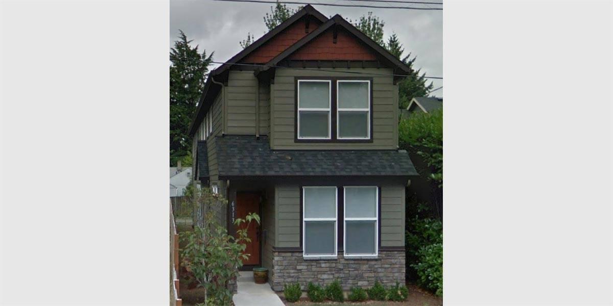 Narrow Lot House Plans Rear Garage