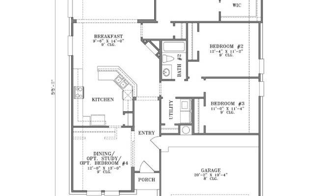 Narrow Lot House Plans Texas Southern