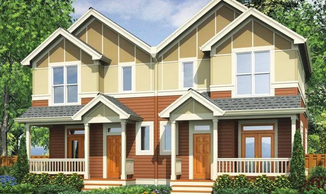 Narrow Lot Multi Home Architectural