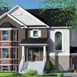 Narrow Multi House Plans