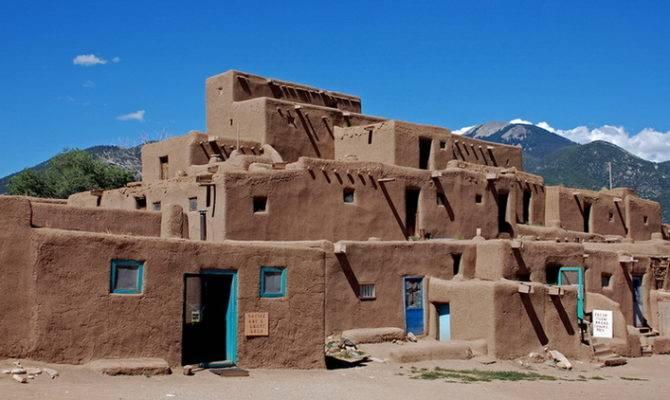 Native Houses New Mexico West Trekearth