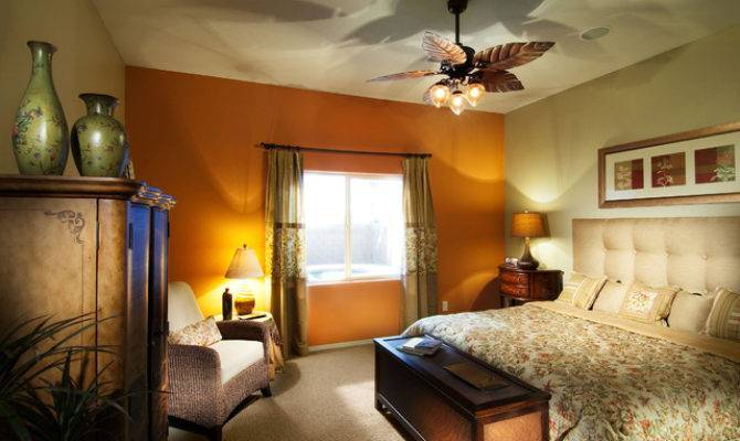 Nature Themed Model Home Eclectic Bedroom Other