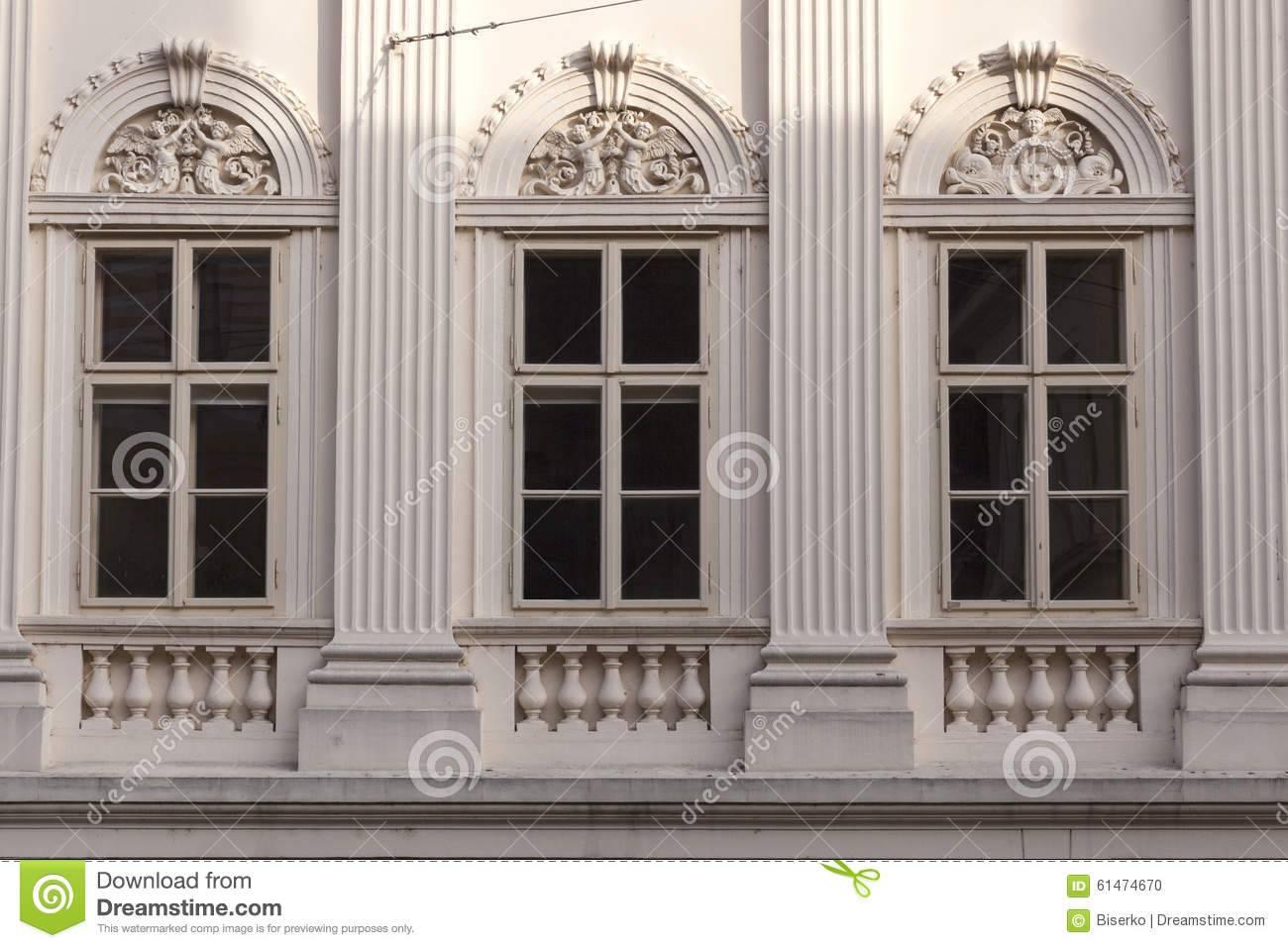 Neo Classic Facade Temple