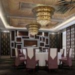 Neoclassical Restaurant Room Interior Design
