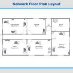 Network Floor Plan Layout Computer Networks Solution Example