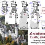 Neuschwanstein Castle Floor Plan