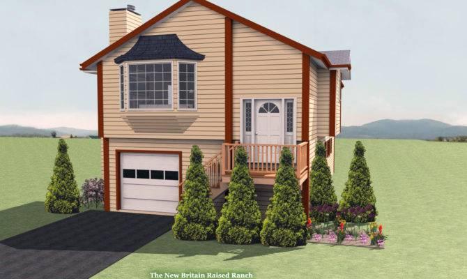 New Britain Raised Ranch House Plan