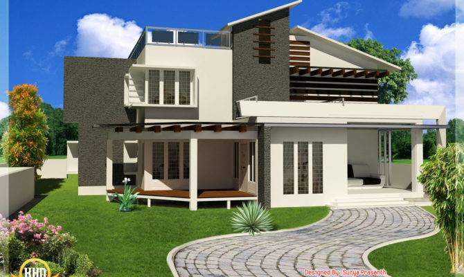 New Contemporary Mix Modern Home Designs Indian Decor