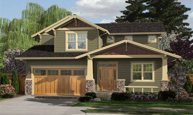 New Craftsman Style Home Houseplan Brentwood