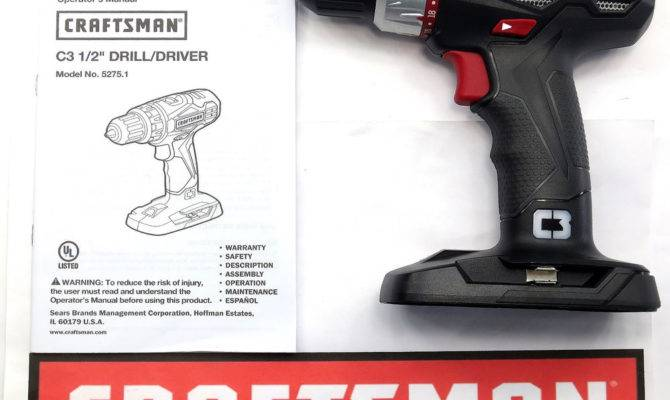 New Craftsman Volt Lithium Ion Compact