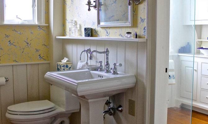 New England Bathroom Back Road Journal