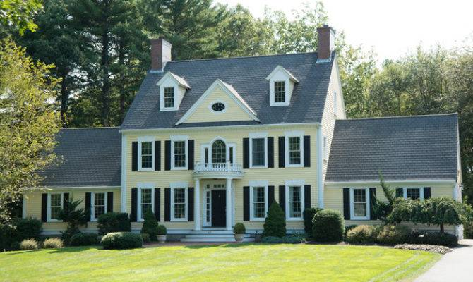 New England Colonial Traditional Exterior Boston