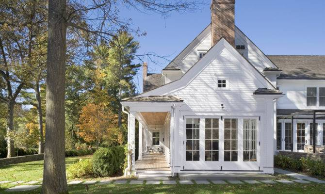 New England Farm Houses Details House Plans