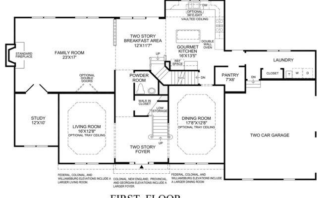 New England Home Floor Plans Design Style