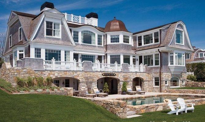 New England Home Maine Shingle Style House Plans