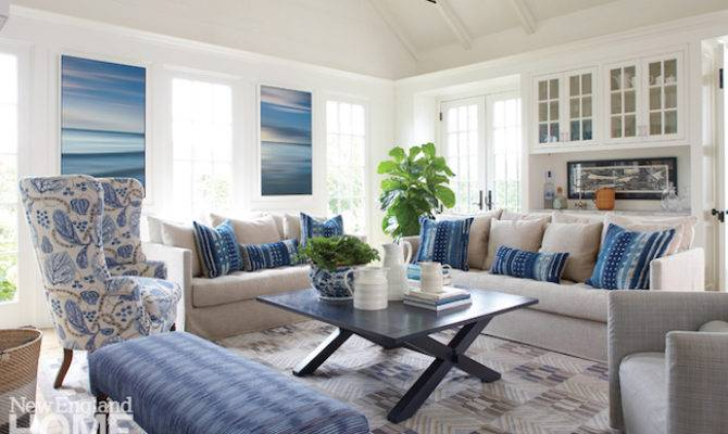 New England Living Room Decorating Gopelling