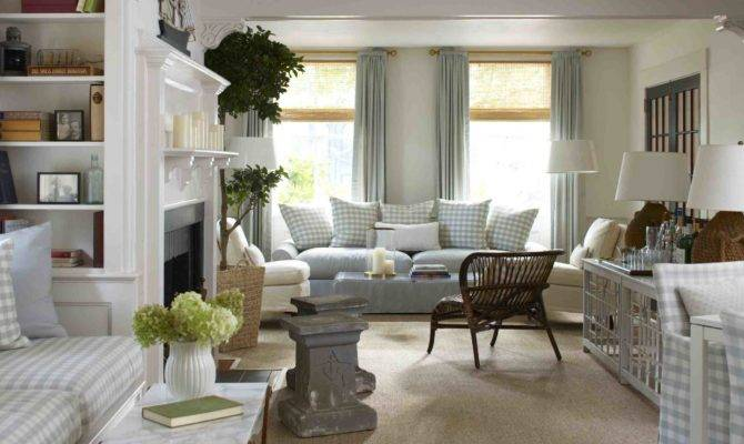 New England Living Room Decorating