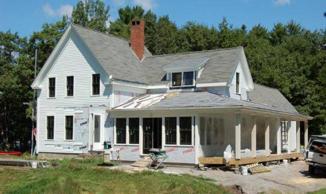 New England Ranch House Plans