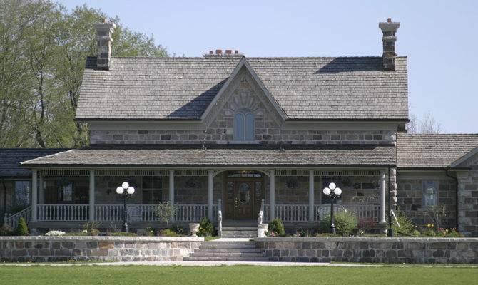 New Fieldstone House Design Based