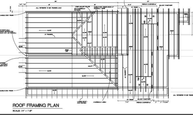 New Framing Details Floor Plan Roof House Plans