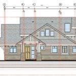 New Home Construction Building Permit Plans North Saanich