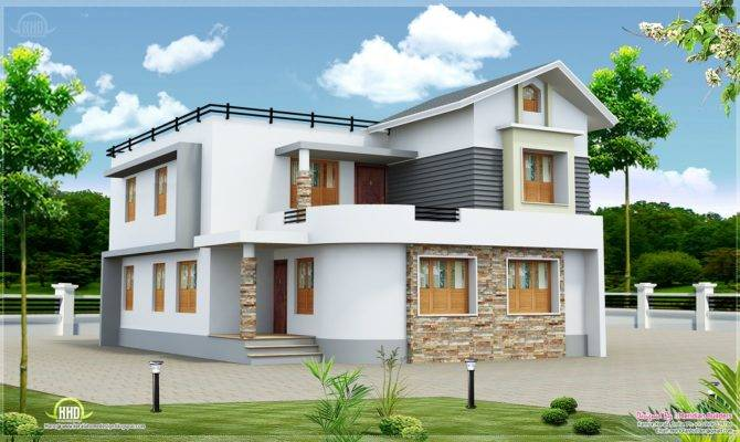 New Home Design Two Storied House Cents Plot