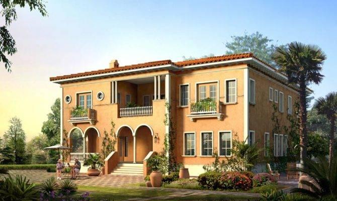 New Home Designs Latest Italian Villas