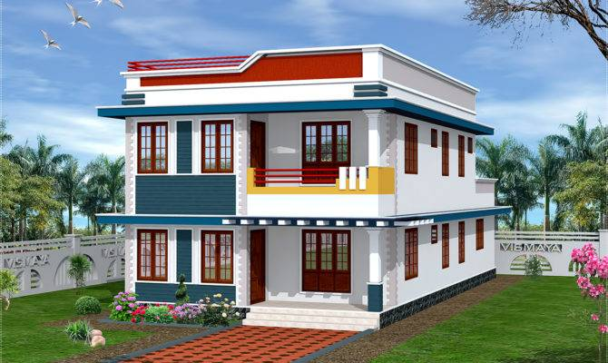 New House Front Designs Models Homes Floor Plans