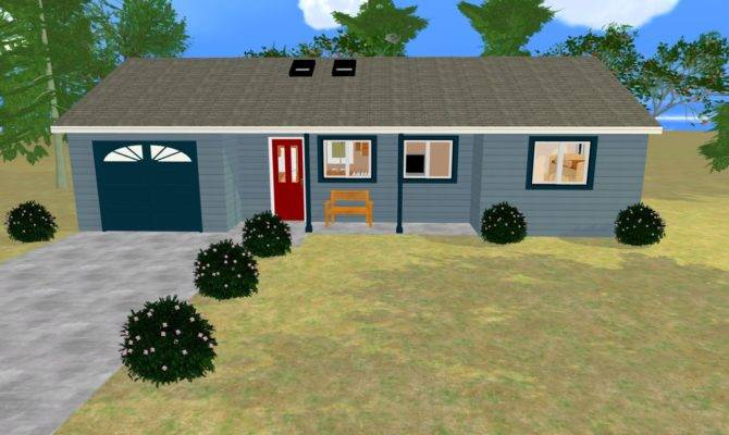 New Improved Bedroom Small House Plan Cozy Home