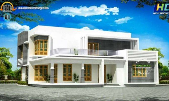 New Kerala House Plans August