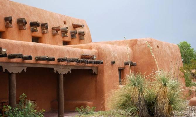 New Mexico Adobe House Hispanic