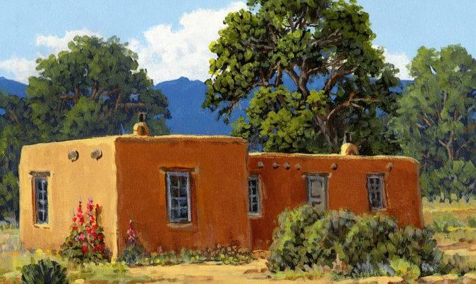 New Mexico Adobe Randy Follis