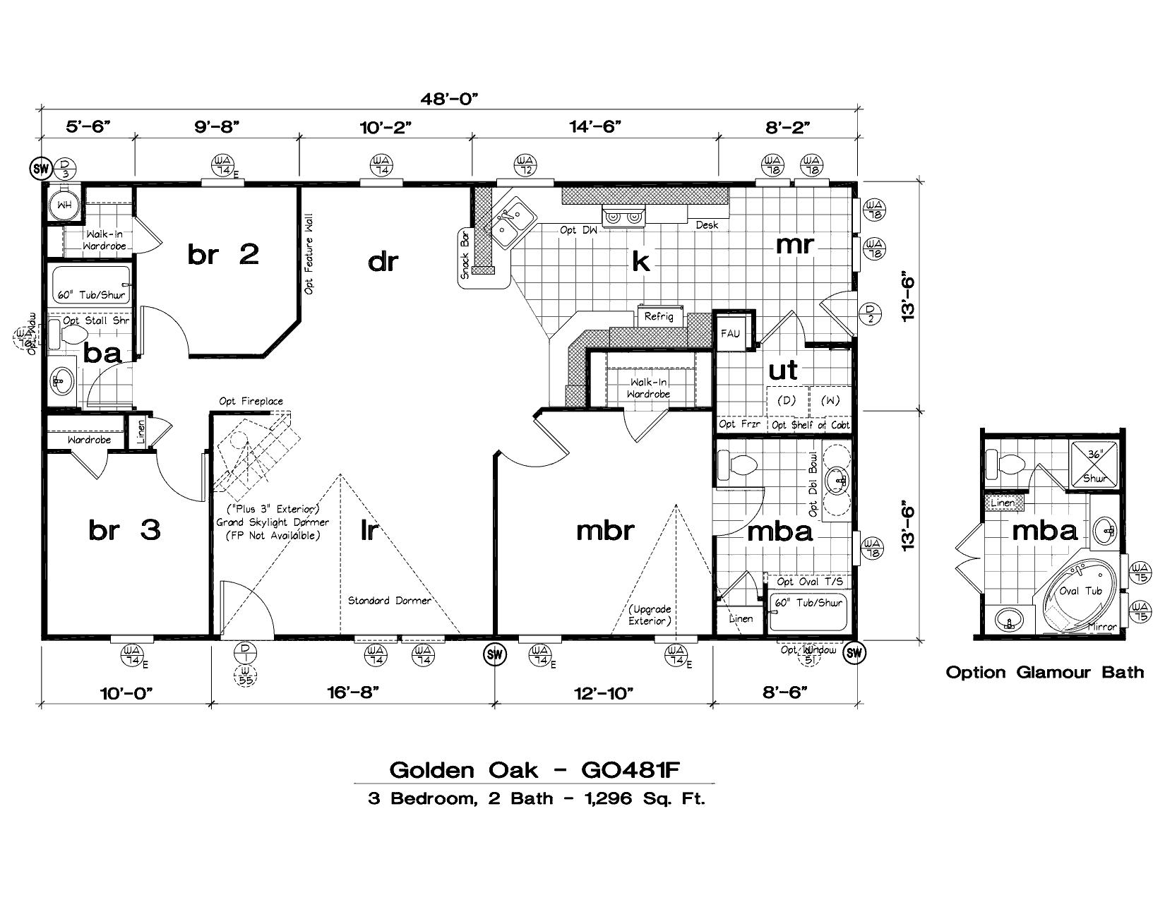 New Mobile Home Floor Plans