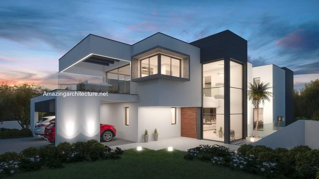 New Modern Spanish Style Villa Concepts Amazing