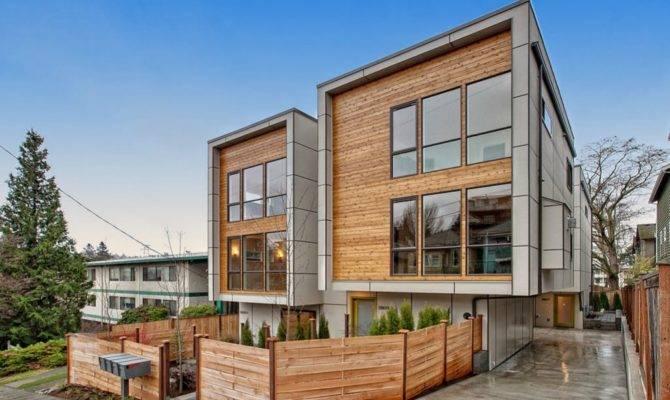 New Modern Townhouses Fremont