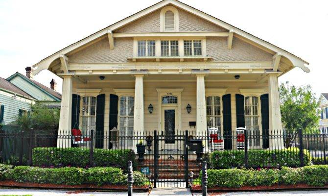 New Orleans Craftsman Style Homes Another Historic Des