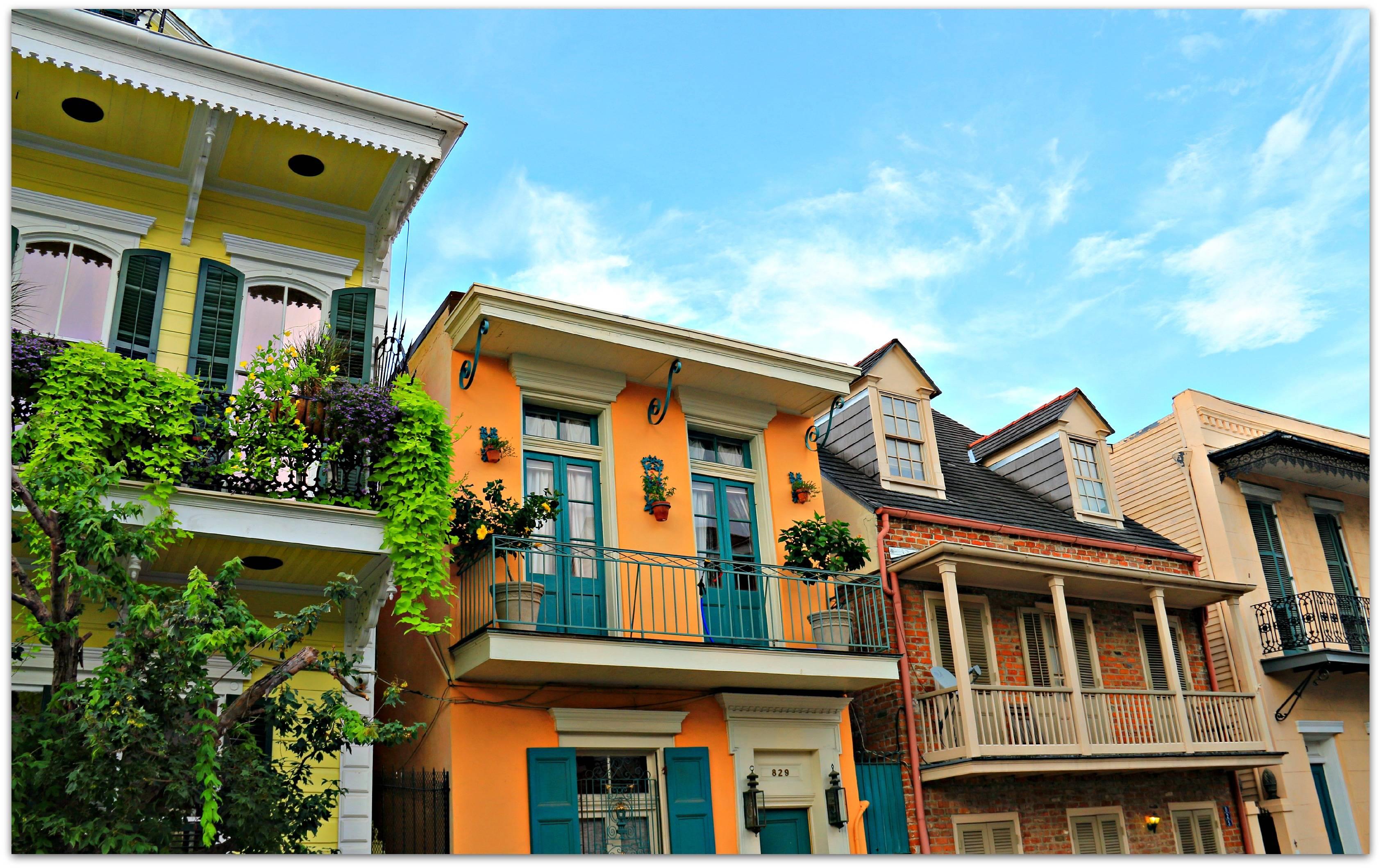 New Orleans Homes Neighborhoods French Quarter