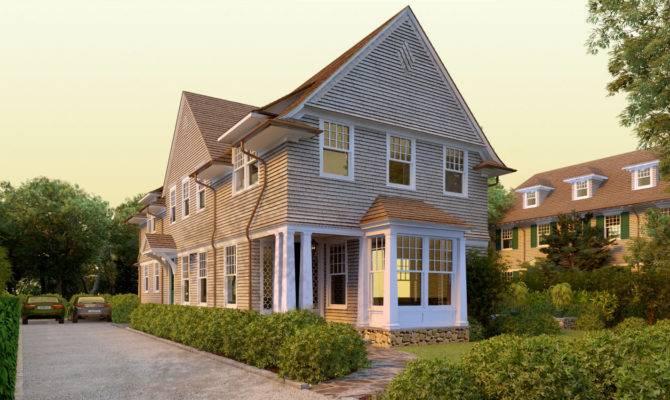 New Shingle Style House Plans