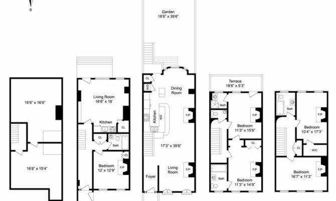 New York Brownstone Floor Plans House Build Some Day