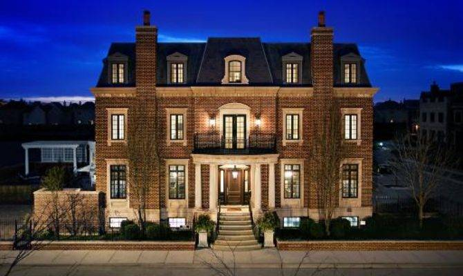 Newly Listed Story Brick Mansion Chicago Homes