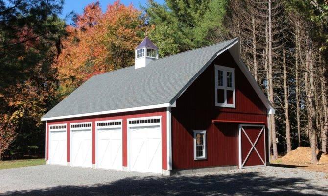 Newport Frame Style Story Garage Barn Yard