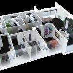 Nice Bedroom Apartments Apartment Floor Plan