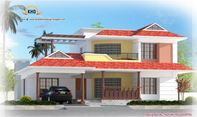 Nice Duplex House Elevation Architecture Plans