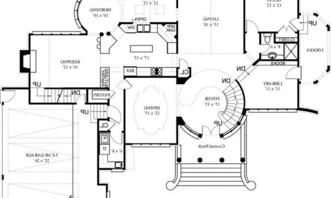 Nice House Floor Plans Architectural Designs